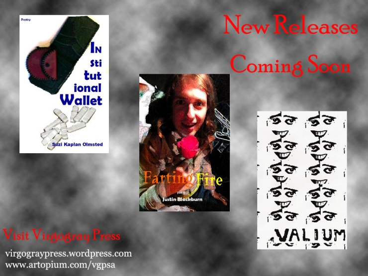 New Releases from Virgogray Press