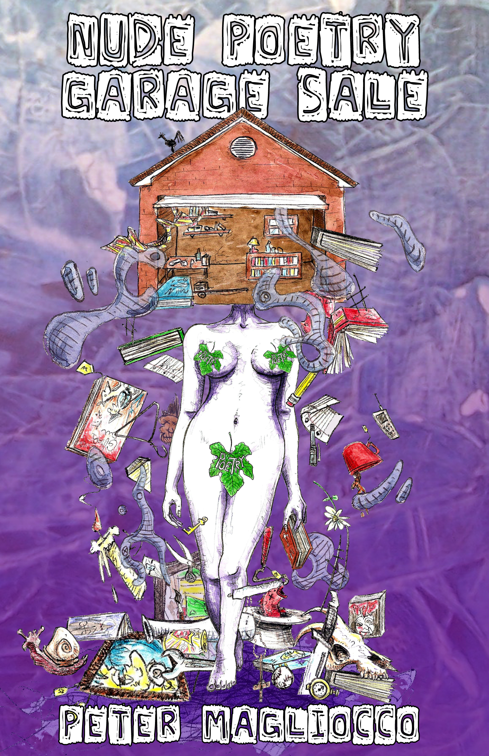 """this just in: """"nude poetry garage sale""""peter magliocco, plus"""