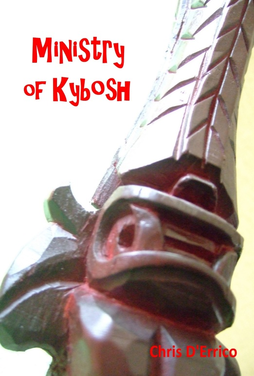 Ministry of Kybosh by Chris D'Errico. Published April 2013. 40 pages.