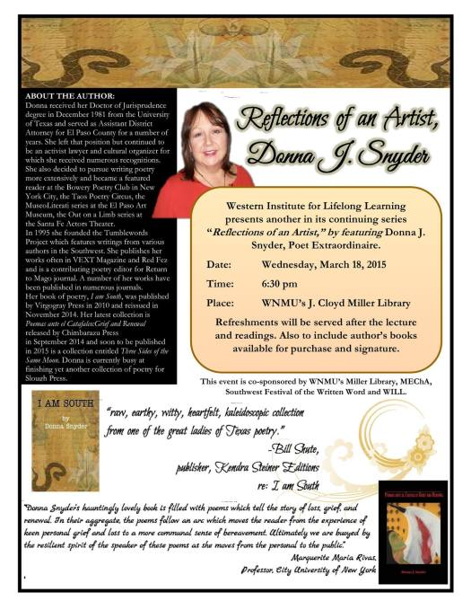 Donna Snyder NM Reading